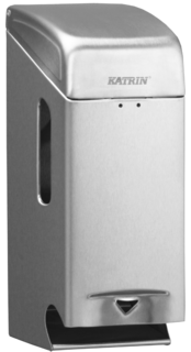 Katrin Toilet 2-Roll Dispenser-Steel, WC-paperiannostelija