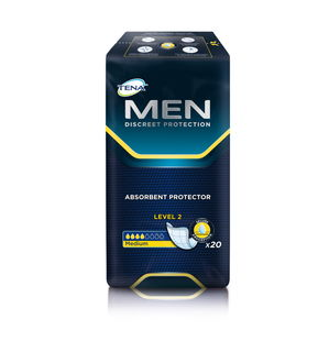 TENA Men Absorbent Protector Level 2 (20 kpl/pkt)