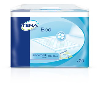 TENA Bed Plus Wings 180 x 80 cm 20 kpl/pkt