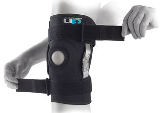 UP Polvituki (3XL) Hinged Knee Brace - Saranoitu