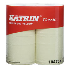Katrin Classic Toilet 300 Yellow (40 rll/sk)