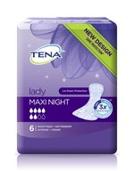 TENA Lady Maxi Night 6 kpl