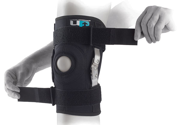 UP Hinged Knee Brace - Saranoitu polvituki, koko 4XL